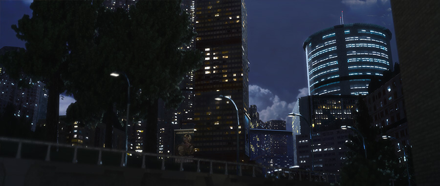 Keyframe of the city